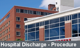 Hospital Discharge Diagnosis Icon